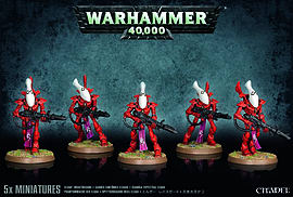 Warhammer 40,000 Eldar Wraithguard Figurines and Sets