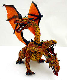 Dragon with 3 Heads Figurines and Sets