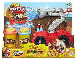 Play-Doh Diggin Rigs Boomer Fire Truck Traditional Games