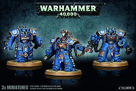 Warhammer 40'000 Space Marine Centurion Devastator Squad Figurines and Sets