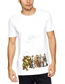 Street Fighter Line Up T Shirt (S) Clothing