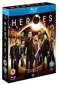 Heroes: The Complete Series 4 Blu-ray