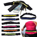 Frostycow Unisex Sports Running Cycling Festival Waterproof Waist Belt Pack Bum Bag Pouch Black screen shot 1