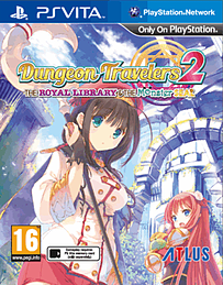 Dungeon Travelers 2: The Royal Library & the Monster Seal PS Vita Cover Art