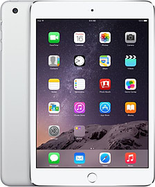Apple iPad Mini 3 64GB (Wifi+Cellular) Silver Tablet