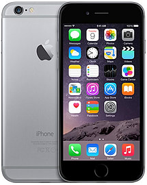 Apple iPhone Plus 6 64GB LTE Sim Free Unlocked Phone (Space Grey) Phones