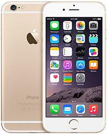 Apple iPhone Plus 6 128GB LTE Sim Free Unlocked Phone (Gold) Phones