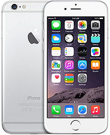 Apple iPhone 6 64GB LTE Sim Free Unlocked Phone (Silver) Phones