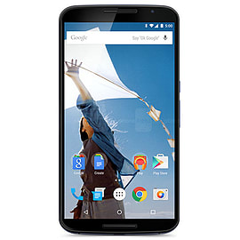 Motorola Google Nexus 6 XT1100 32GB LTE Sim Free Unlocked Phone (Midnight Blue) Phones