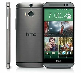 HTC One M8 16GB LTE Sim Free Unlocked Phone (Grey) Phones