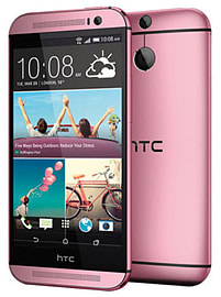 HTC One M8 16GB LTE Sim Free Unlocked Phone (Pink) Phones