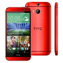 HTC One M8 16GB LTE Sim Free Unlocked Phone (Red) Phones