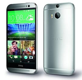 HTC One M8 16GB LTE Sim Free Unlocked Phone (Silver) Phones