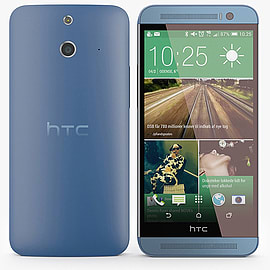 HTC One E8 16GB LTE Sim Free Unlocked Phone (Blue) Phones