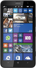 Nokia Lumia 1320 8GB LTE Sim Free Unlocked Phone (Black) Phones