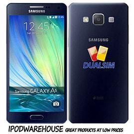 Samsung Galaxy A5 A5000 Dual Sim 16GB LTE Unlocked Phone (Black) Phones