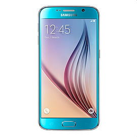Samsung Galaxy S6 G920F 32GB LTE Sim Free Unlocked Phone (Blue) Phones
