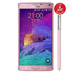 Samsung Galaxy Note 4 N9100 Dual Sim 16GB Unlocked Phone (Pink) Phones