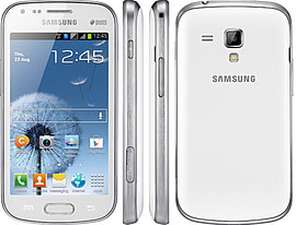 Samsung Galaxy S4 mini Duos i9192 Dual Sim 3G Unlocked Phone (White) Phones