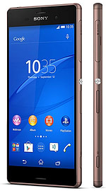 Sony Xperia Z3 D6653 16GB LTE Sim Free Unlocked Phone (Copper) Phones