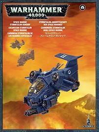 Warhammer 40,000 Space Marine Stormtalon Gunship Figurines and Sets