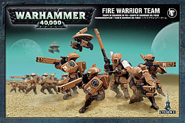 Warhammer 40,000 Fire Warrior Team Figurines and Sets