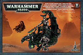 Warhammer 40,000 Necron Catacomb Command Barge/ Annihiliation Barge Figurines and Sets