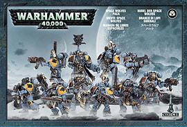 Warhammer 40,000 Space Wolves Pack Figurines and Sets
