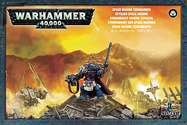 Warhammer 40,000 Space Marine Commander Figurines and Sets