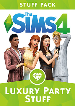 The Sims 4: Luxury Party Stuff Pack PC Downloads Cover Art