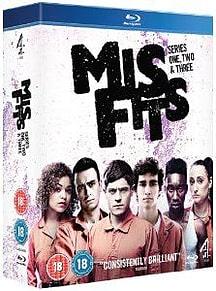 Misfits: Series 1-3 Blu-ray