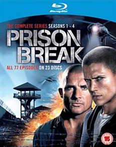 Prison Break: Complete Seasons 1-4 Blu-ray