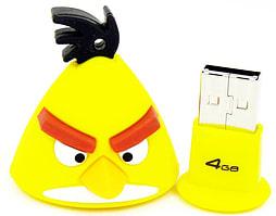 Angry Birds Yellow Bird 4GB USB Flash Drive PC