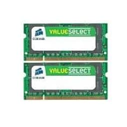 Corsair 4gb (2x2gb) Ddr3 1333mhz Pc3-10600 204-pin So-dimm Memory Module Kit PC