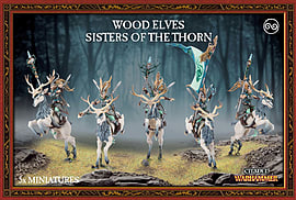 Warhammer Wood Elves Sisters of the Thorn Figurines and Sets