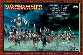 Warhammer Vampire Counts Skeletons Figurines and Sets