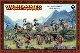 Warhammer Dwarf Ironbreakers Figurines and Sets