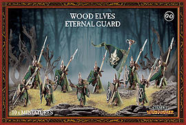 Warhammer Wood Elves Eternal Guard Figurines and Sets