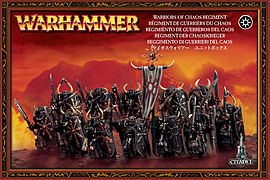 Warhammer Warriors of Chaos Regiment Figurines and Sets
