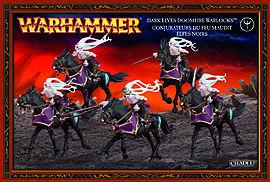 Warhammer Dark Elves Doomfire Warlocks Figurines and Sets