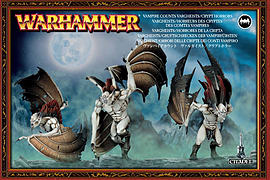 Warhammer Vampire Counts Vargheists/ Crypt Horrors Figurines and Sets