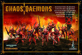 Chaos Demons Bloodletters of Khorne Figurines and Sets