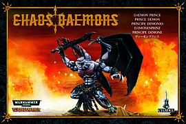 Chaos Demons Daemon Prince Figurines and Sets