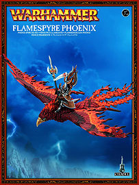 Warhammer Flamespyre Phoenix Figurines and Sets