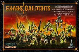 Chaos Demons Plaguebearers of Nurgle Figurines and Sets