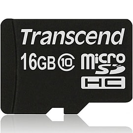 Transcend 16GB MicroSDHC Flash Card without Adaptor (Class 10) Mobile phones