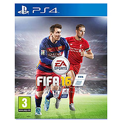 FIFA 16 PlayStation 4 Cover Art
