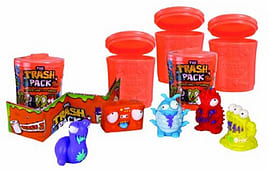 Trash Pack Series 2 - 5 Trashies in a Blister Pack Figurines and Sets