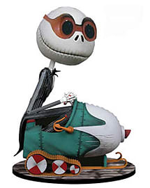 Nightmare Before Snowmobile Jack BobbleHead Figurines and Sets