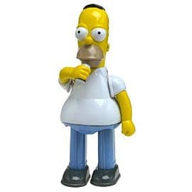 The Simpsons Homer Tin Action Toy Figurines and Sets